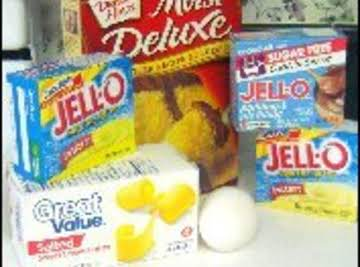 How to make Cake Mix with Pudding