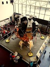 Photo: A replica of the LEM - Luna Excursion Module.