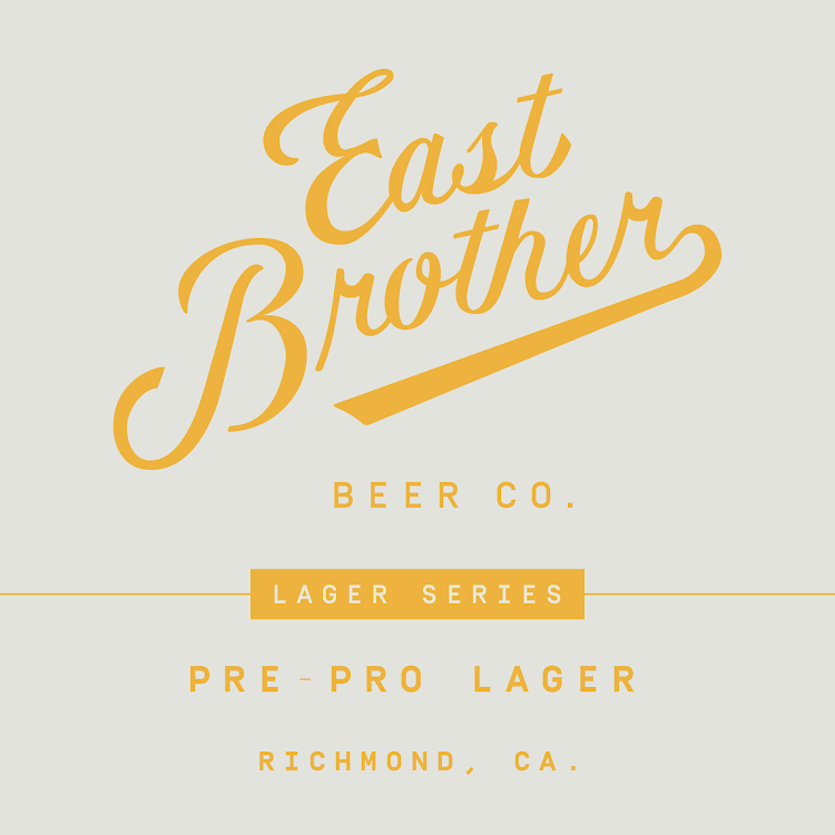 Logo of East Brother Pre-Prohibition Lager