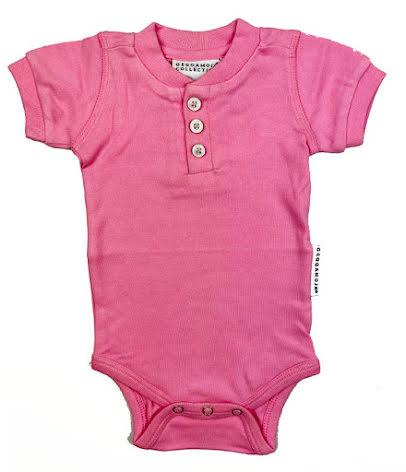 Geggamoja Body SS Pink