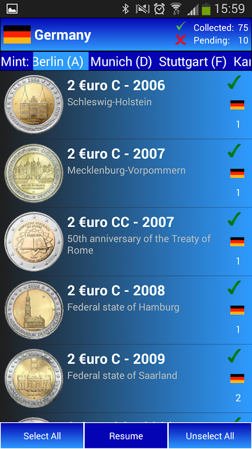 My 2Euros- screenshot