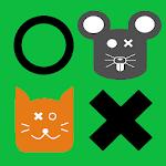Tres en raya ¡Gatos contra ratones! icon