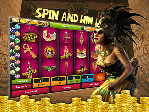 Gods of Egypt Slots Casino  screenshots 4