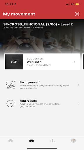 Screenshots der Universal Fitness Group 2