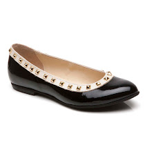 Step2wo Piazza - Studded Slip On BALLERINA