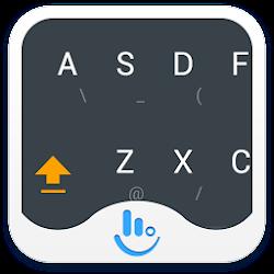TouchPal Droid L Orange Theme