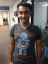 Photo: Ashish shows off his latest shirt
