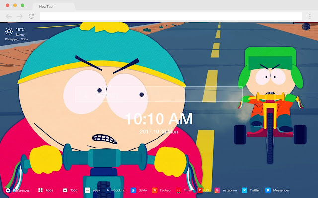 South Park New Tab Page HD Wallpapers Themes