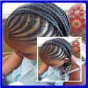 Peinado para las mujeres negra icon
