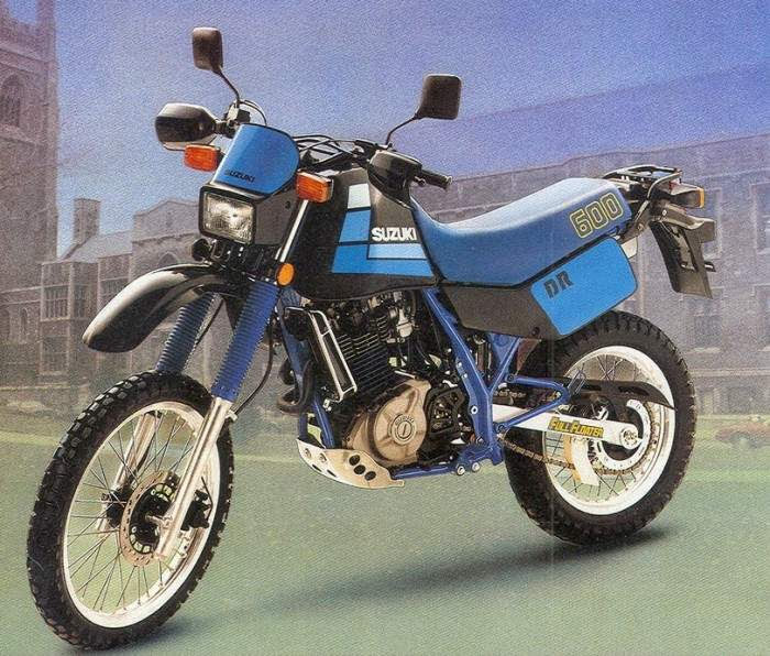 suzuki DR 600-manual-taller-despiece-mecanica