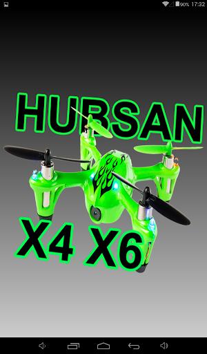 Hubsan X4 H107C y TSelling X6.
