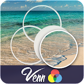 Venn Beaches: Circle Jigsaw