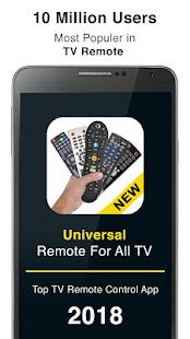 Control remoto para todos los televisores Mod