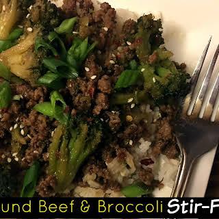 Ground Beef & Broccoli Stir-Fry.