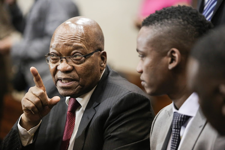 Former spy bosses Gibson Njenje and Moe Shaik say they had several meetings with former president Jacob Zuma about the Guptas, but quit when they realised he would not act on their warnings. Picture: Alaister Russell/The Sunday Times