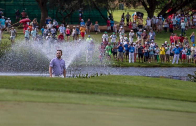 Nedbank Golf Challenge winner Branden Grace of South Africa during day 4 of the 2017 Nedbank Golf Challenge at The Gary Player Country Club on November 12, 2017 in Sun City, South Africa.