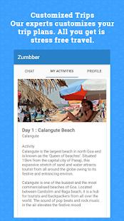 Zumbber - Trip Planner - náhled