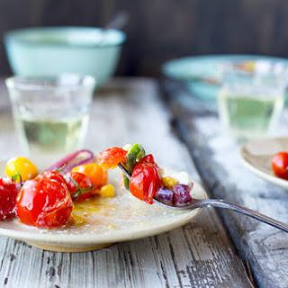 Roasted Vegetable Salad with Feta Vinaigrette