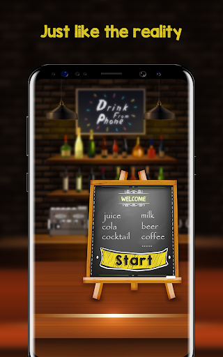 Screenshot for Drink Simulator - Drink Cocktail &Juice Mixer Joke in Hong Kong Play Store