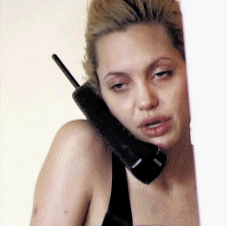 Jolie 'drug' video shock