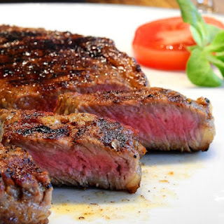 Grilled Grass-fed Steak.