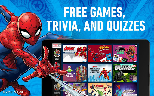 Download Marvel HQ u2013 Games, Trivia, and Quizzes MOD APK 9