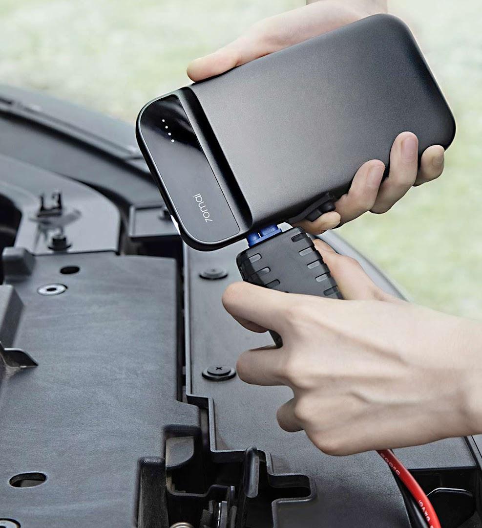 Kết quả hình ảnh cho Bộ kích điện ô tô Xiaomi 70mai