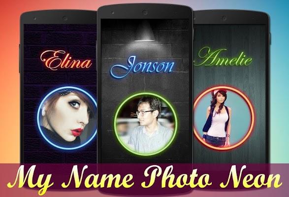 My Name Photo Neon - screenshot