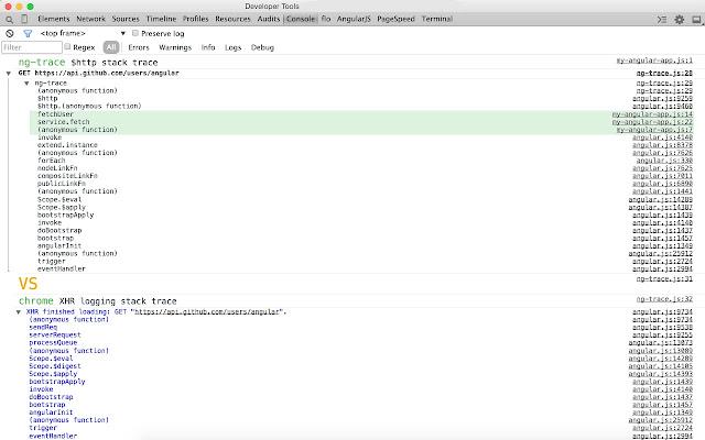 ng-trace for AngularJS