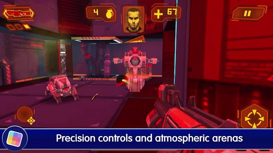 Neon Shadow: Cyberpunk 3D First Person Shooter Screenshot