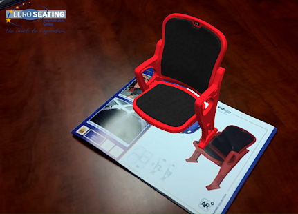 Euro Seating AR: miniatura de captura de pantalla