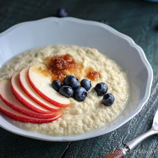 Coconut Flour Porridge (Paleo, Low Carb, Grain Free).