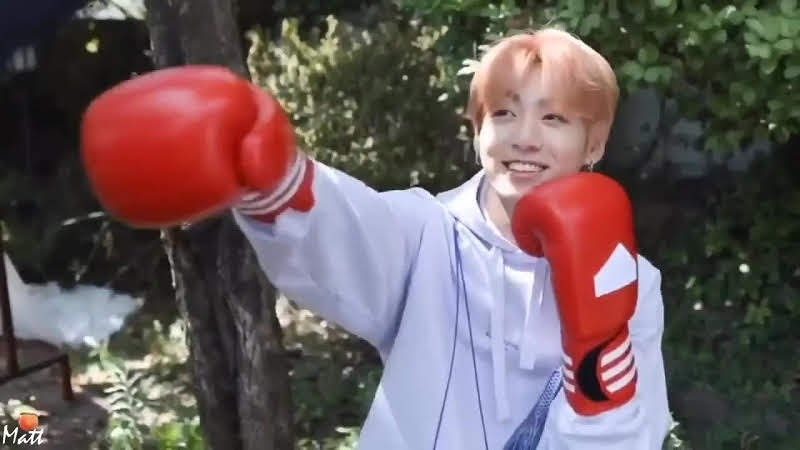 Jungkook Boxing Returned to Encouraged Fans