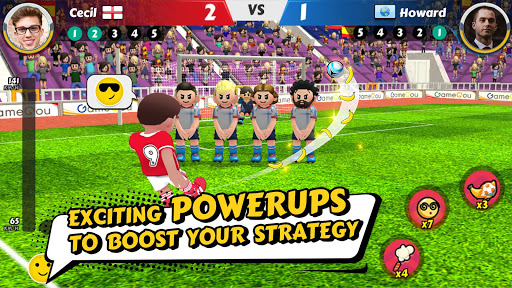 Perfect Kick 2 - Online SOCCER game 1.0.10 screenshots 1