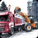 Loader & Dump Truck Winter SIM icon