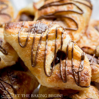 Puff Pastry Desserts With Nutella Chocolate Recipes.