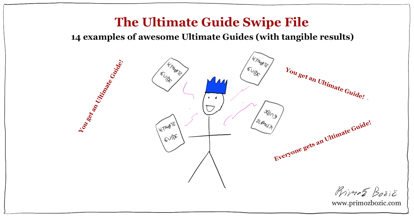 Ultimate Guide Examples Swipe File