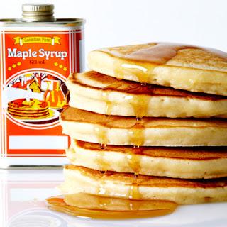 Maple and Brown Sugar Pancake.