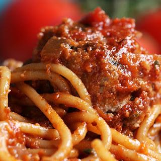 Spaghetti And Meatballs As Made By Richard Blais.