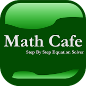 Math Cafe - Equation Solver