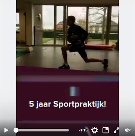 5 jaar Sportpraktijk!