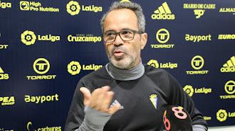 Álvaro Cervera en rueda de prensa.
