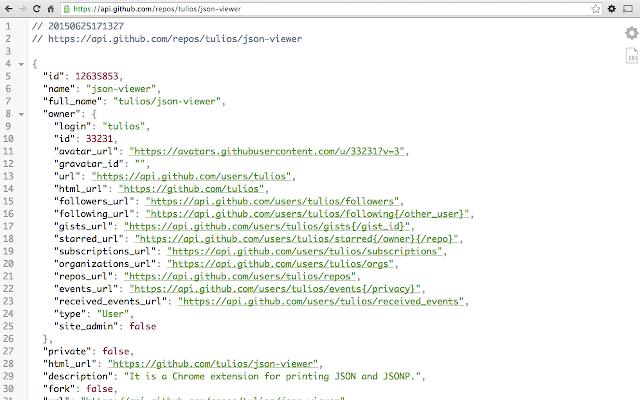 JSON Viewer - Chrome Internetes áruház