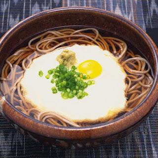 Tsukimi Soba Recipe