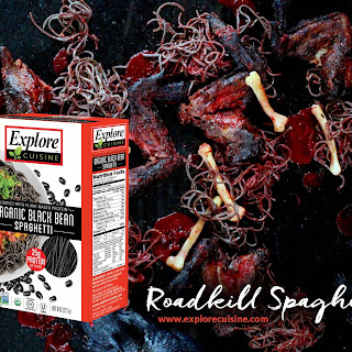 HALLOWEEN RECIPE ROADKILL SPAGHETTI