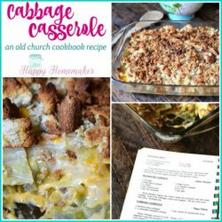 Cabbage Casserole With Cream Of Mushroom Soup Recipes.