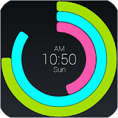 Polar Clock Screen