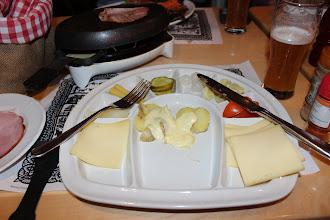 Photo: Raclette at Adler, Zurich