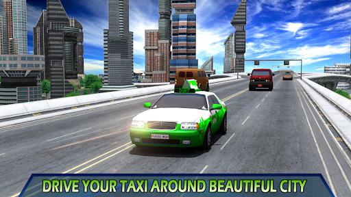 玩免費模擬APP|下載Taxi Driving Mania 3D app不用錢|硬是要APP
