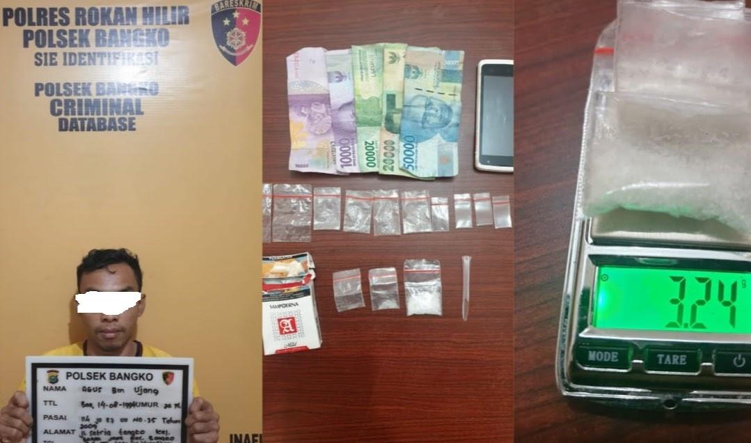 """Keberhasilan Polsek Bangko """"ungkap kasus transaksi dan penyalahgunaan narkotika jenis sabu"""